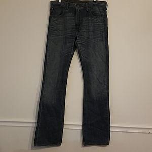 Mens 527 Blue Jean Excellent Slim Bootcut